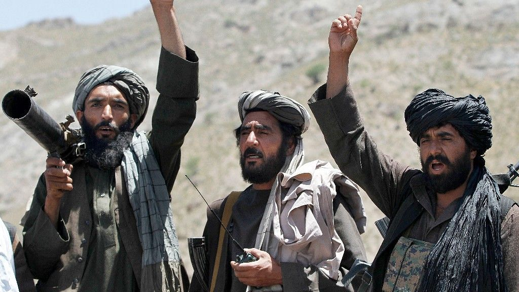 Archival image of the Taliban used for representational purposes.