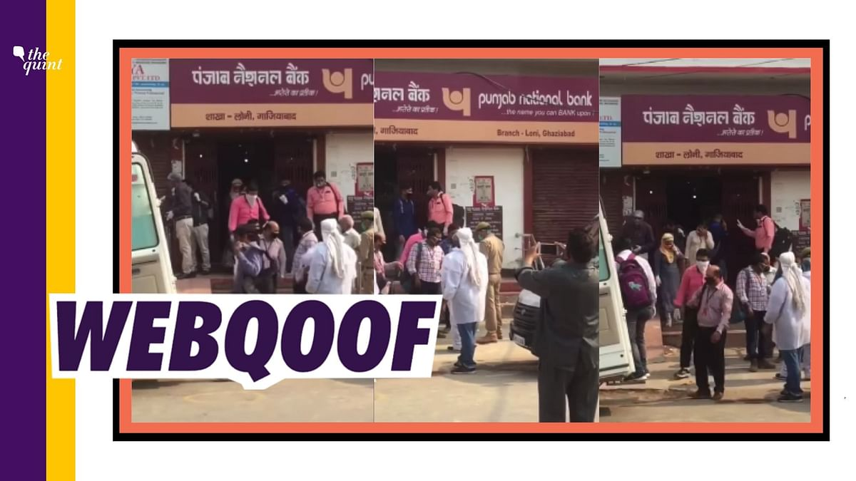 PNB Staff Test Positive for COVID-19? Video Taken Out of Context