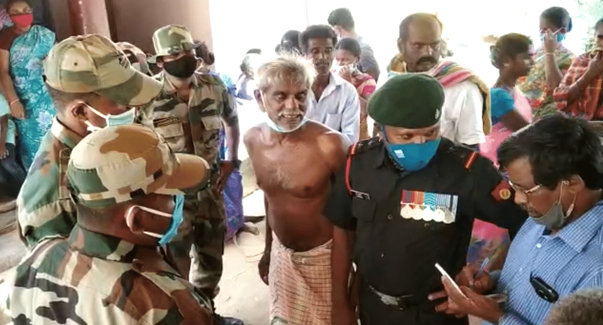Havildar Palani's father is a farmer who struggled to help him join the army.