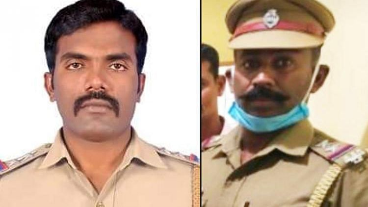 Balakrishnan and Raghu Ganesh, cops suspended in connection with Thoothukudi custodial deaths.