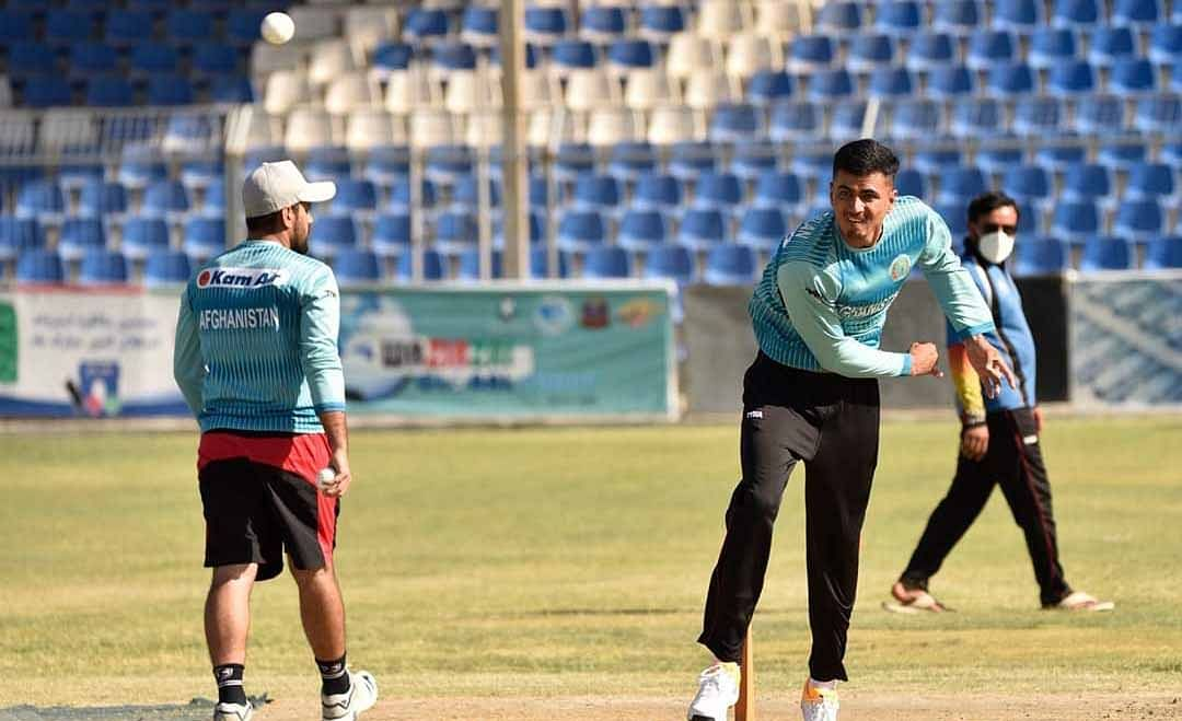 Afghanistan cricketers start month-long training camp post COVID-19 lockdown.