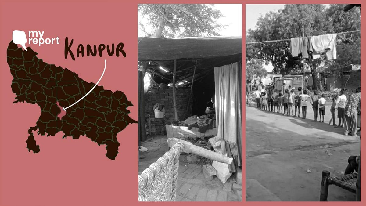 Rakhi Mandi is one of the oldest slums of Kanpur.