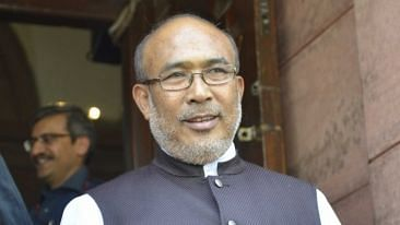 N Biren Singh-led BJP government in Manipur received a big jolt as nine MLAs, including three BJP legislators, resigned from the party and joined the Congress.