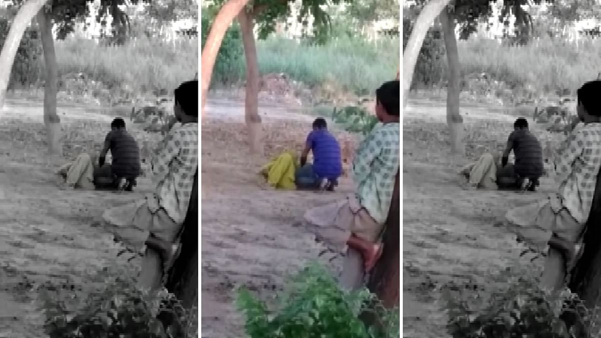 Caught On Camera: Man Beats Wife to Death in UP's Raebareli