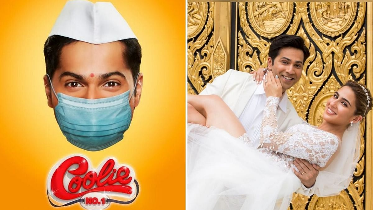 Varun Releases 'Coolie No.1' Poster, With a Coronavirus Twist