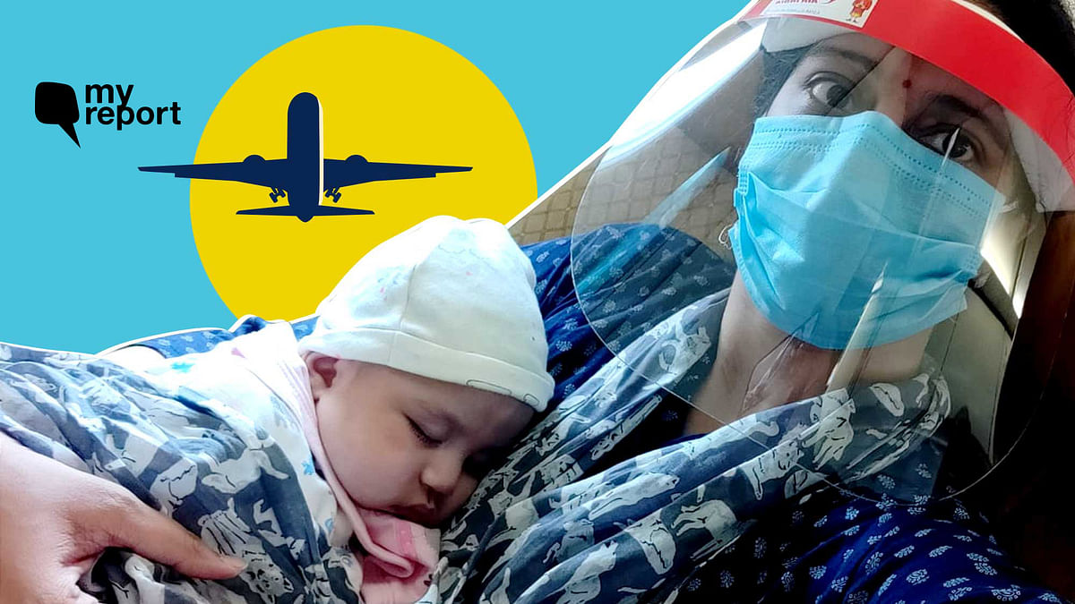 'How I Took a Flight With My Newborn Amid COVID-19 Crisis'