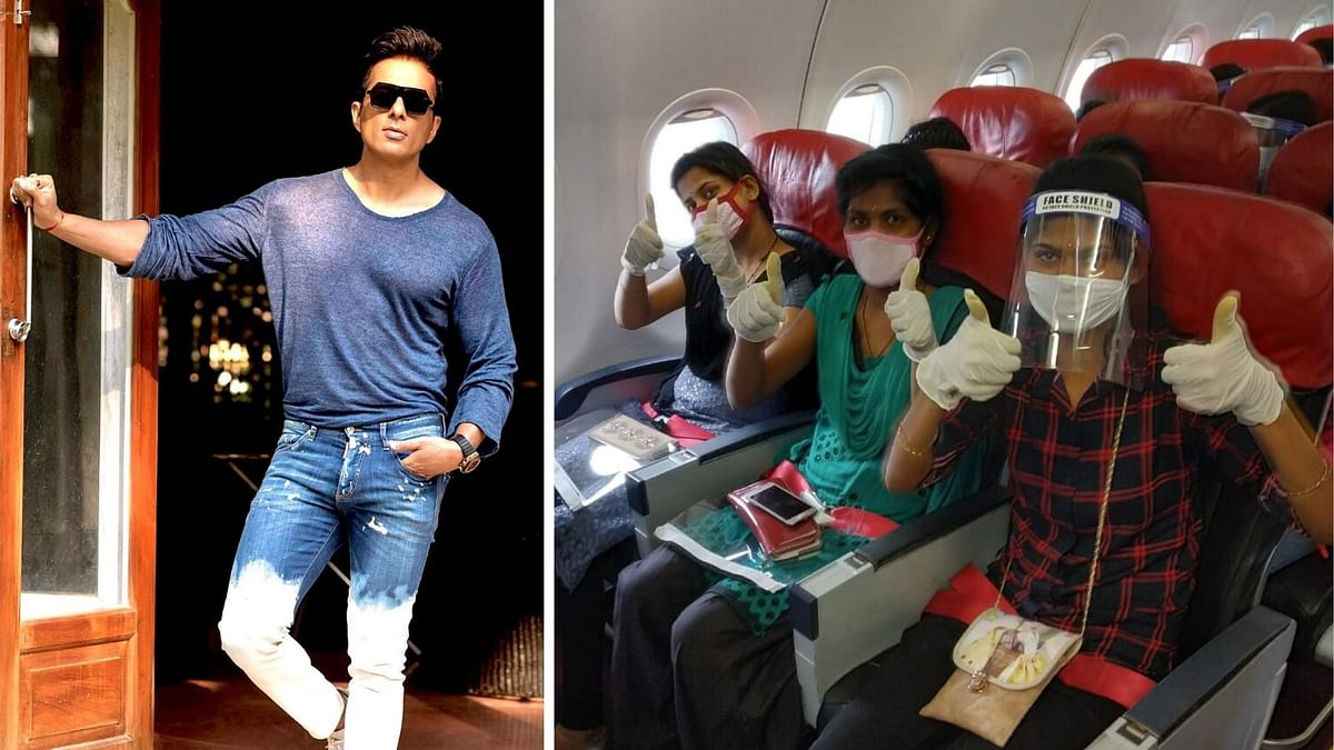 Sonu Sood Funds Another Chartered Flight, This Time to Dehradun