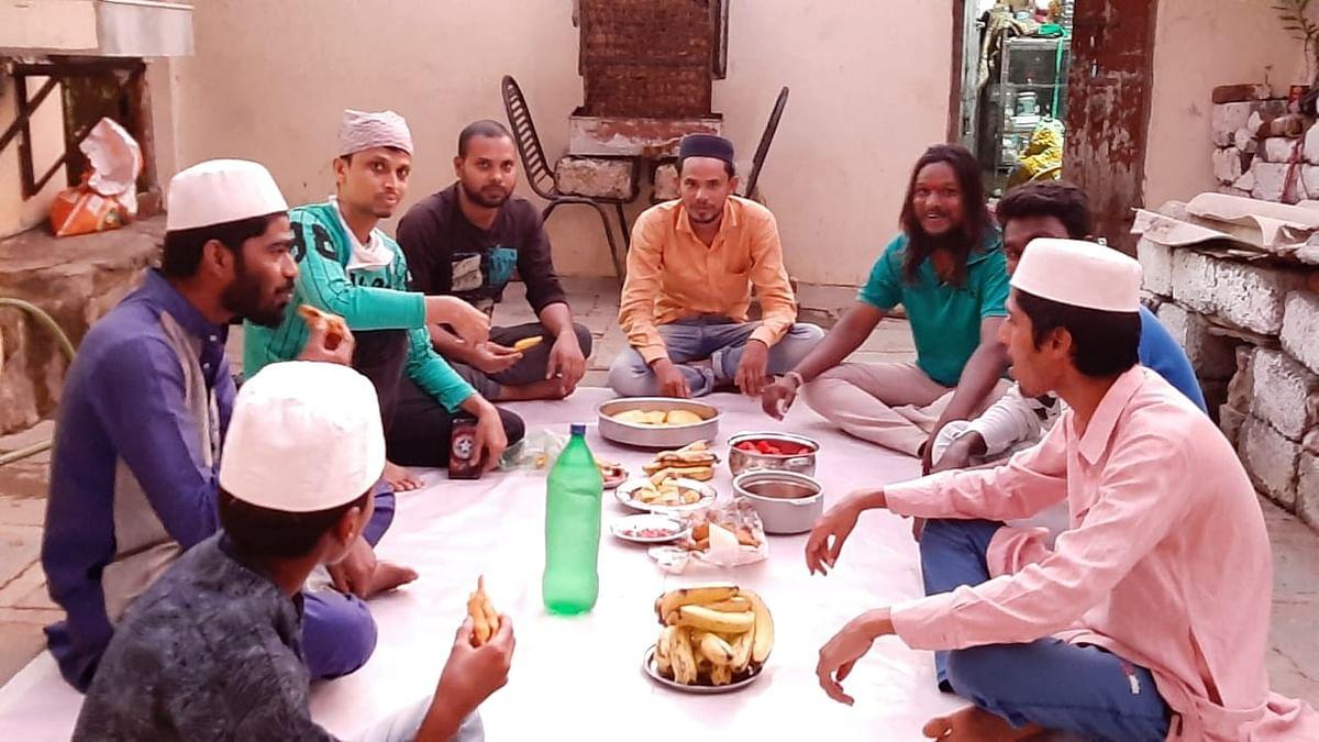 Tirupati organised a spontaneous Iftar at his home for Muslim volunteers