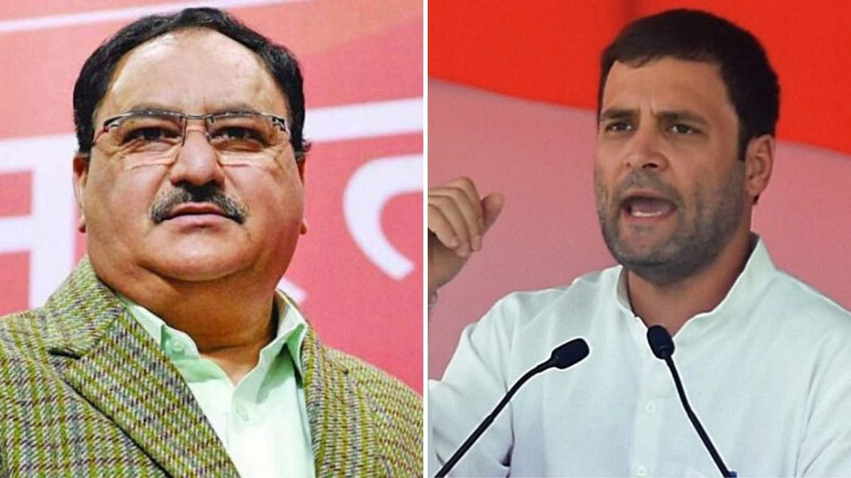 'Desperation to Wash Sins of 1962': Nadda on Rahul's Video Attack