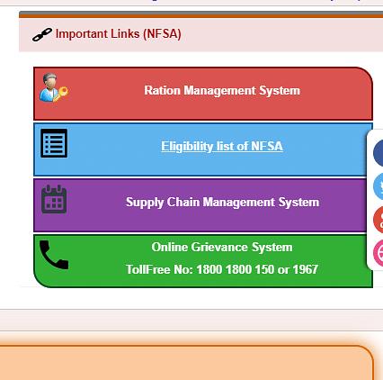 "Click on ""Eligibility List of NFSA"" tab."