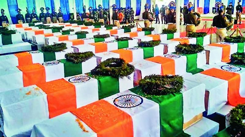2019 Photo Viral as Mortal Remains of Indian Soldiers Post Galwan