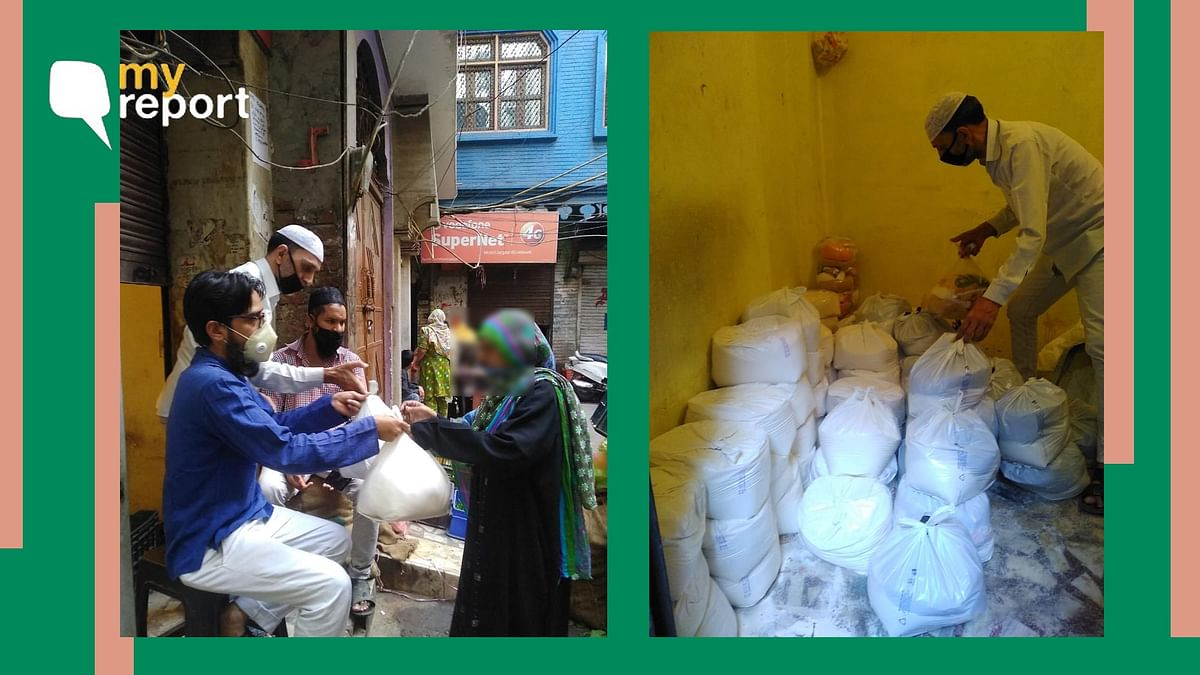 A Message of Hope: How We Helped Several in Old Delhi With Ration