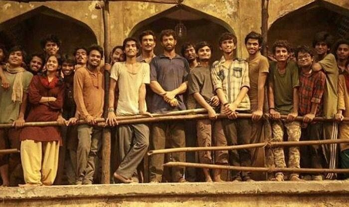 Hrithik Roshan on the sets of <i>Super 30</i>.