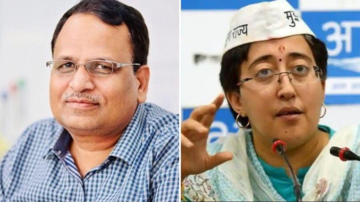 Delhi Health Minister Satyendar Jain and AAP MLA Atishi tested positive for COVID-19.