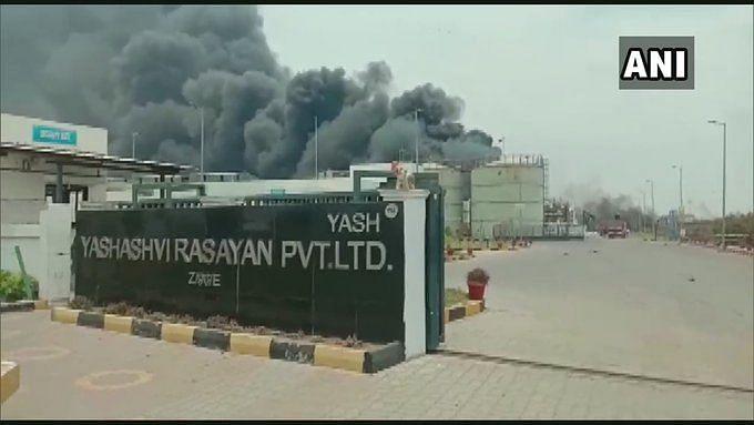 8 Dead, Over 50 Injured in Boiler Blast at Guj Chemical Factory