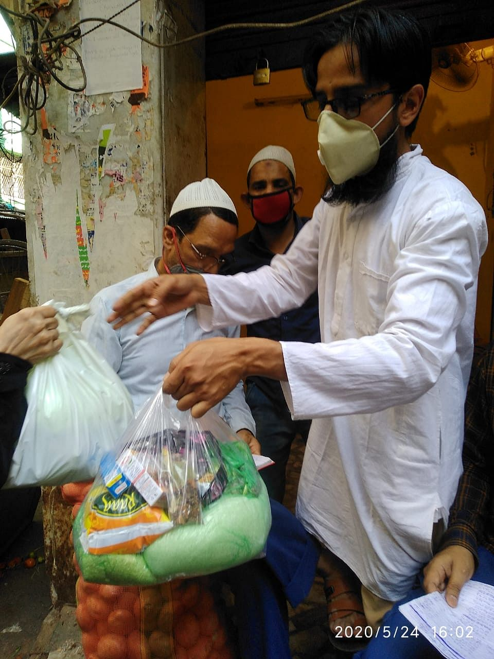 Around 70 such families were in need of regular help as long as lockdown continued.