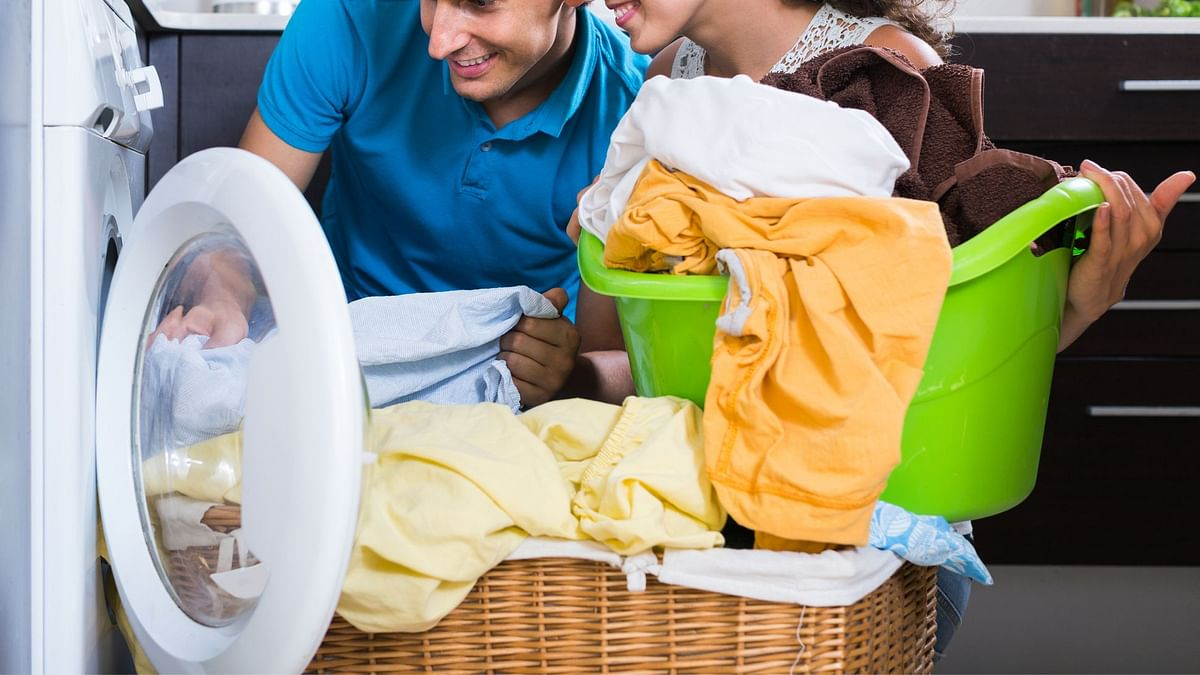 Sharing household chores is also a great way of bonding with your partner.