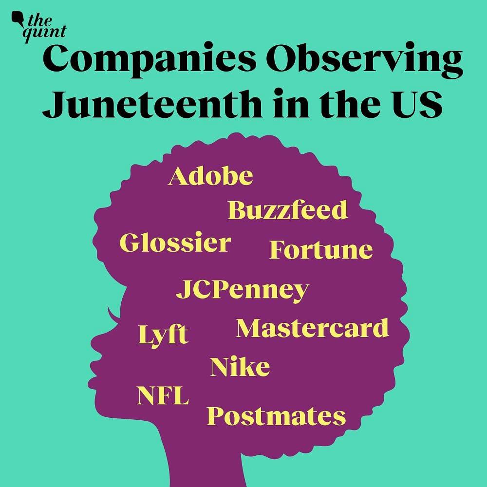 American companies observing Juneteenth