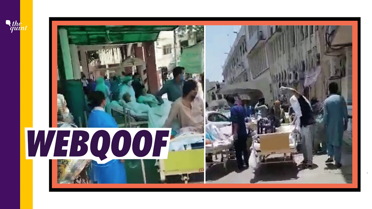 Video From Pak Hospital Fire Viral as COVID Situation in Hyderabad