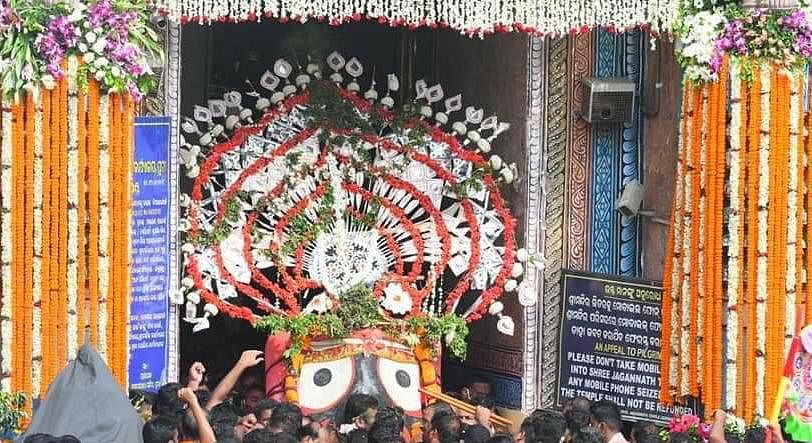 For the first time in history, Jagannath Rath Yatra is taking place without the presence of devotees at the temple premises.