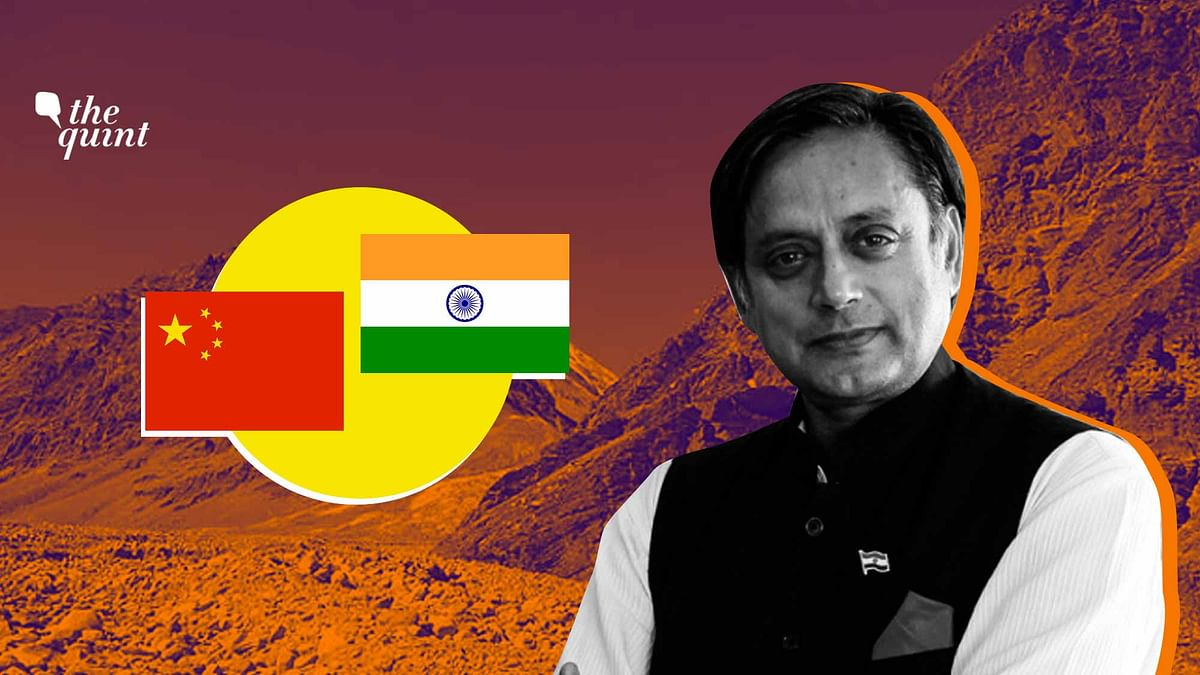 China Changed Status Quo by Force, Withdrawal Unlikely: Tharoor