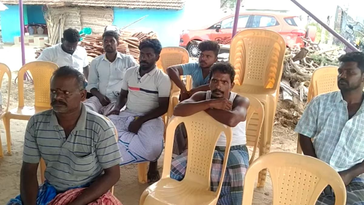The entire village came to offer condolences because they were fond of Palani.
