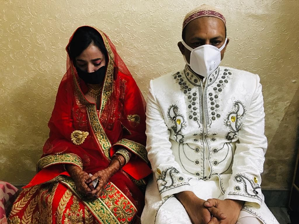 Ishrat and Farhan's courtship has lasted over seven years. It had been decided very years ago that they would get married on 12 June this year.
