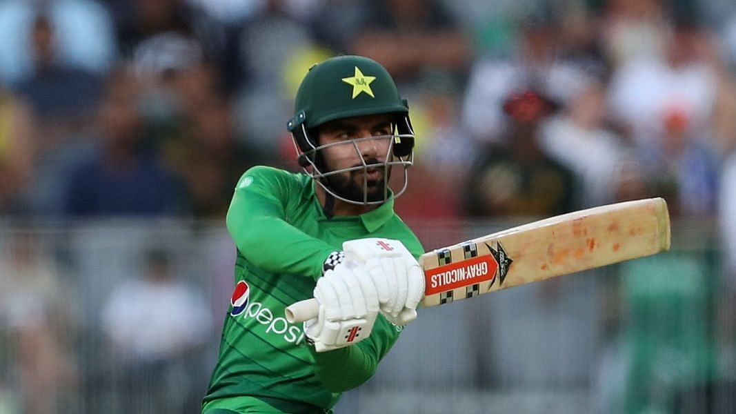 Shadab Khan is one of the 3 cricketers who had tested positive for COVID-19 on Monday.