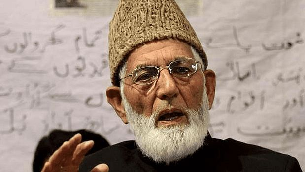 Archival image of Kashmiri Separatist leader Syed Ali Shah Geelani. Image used for representation.