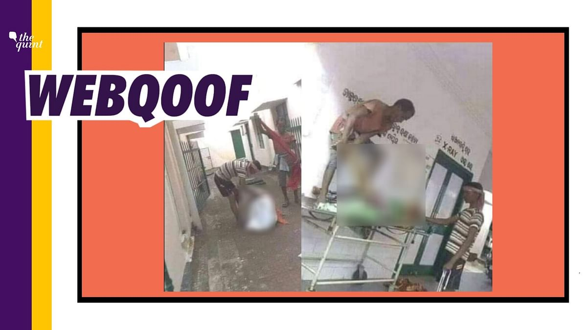 A set of old images from 2016 incident in Odisha are being circulated as recent.