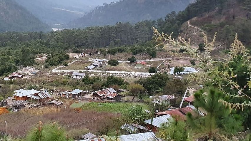 Kaho village in Arunachal Pradesh's Anjaw district, also known as the last village on Indian territory.
