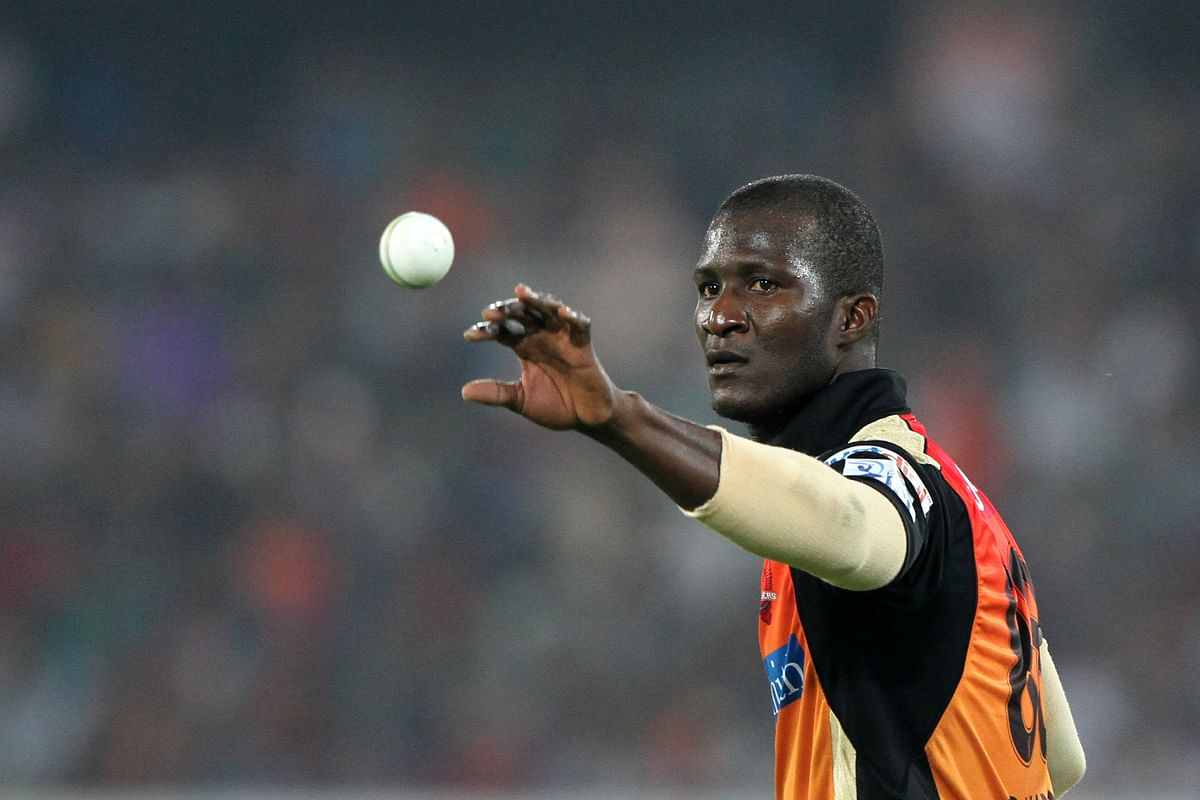 Daren Sammy played in the IPL for the Sunrisers Hyderabad in 2013 and 2014.