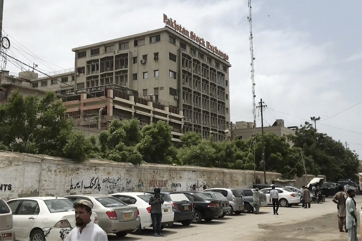 Karachi Stock Exchange Building Attack: 4 Gunmen, 6 Others Dead