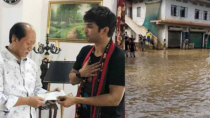 How Sushant Singh Rajput Quietly Helped Flood-Hit Nagaland In 2018