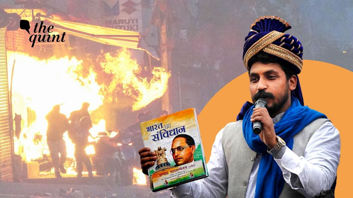 Police Links Bhim Army to Delhi Riots. Chandrashekhar Azad Replies