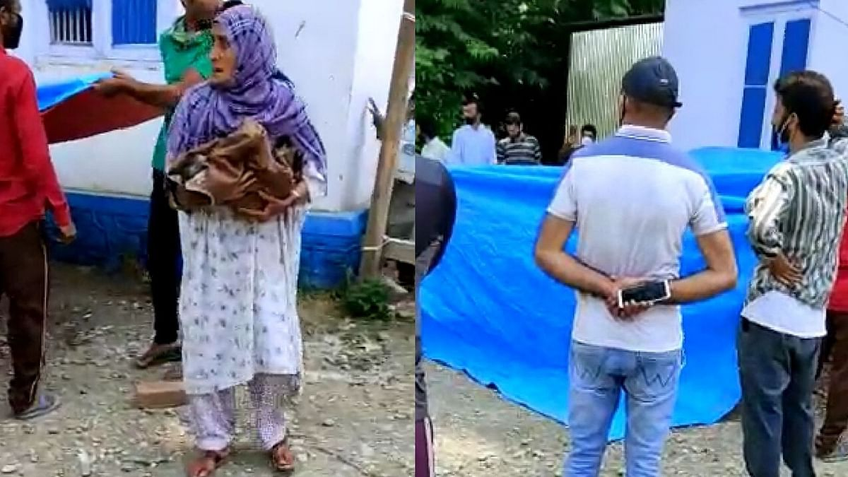 A woman gave birth to a baby outside J&K hospital while waiting for her COVID-19 test report.