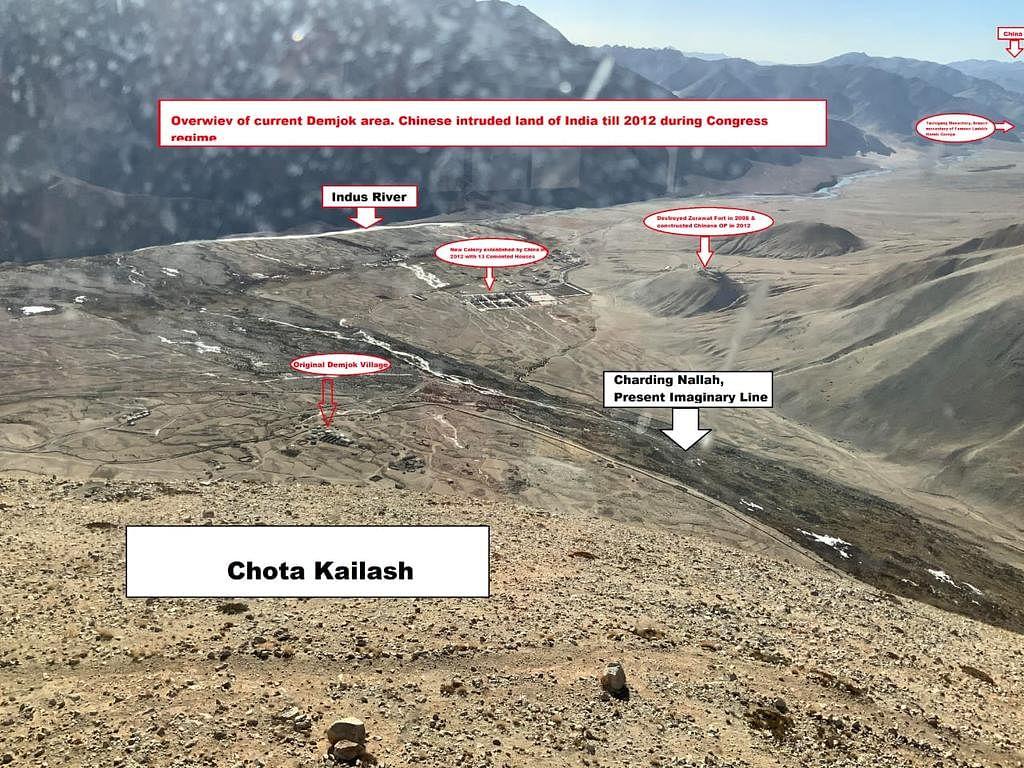 Ladakh MP on 'Chinese-Occupied' Aksai-Chin; Slams Rahul on Twitter