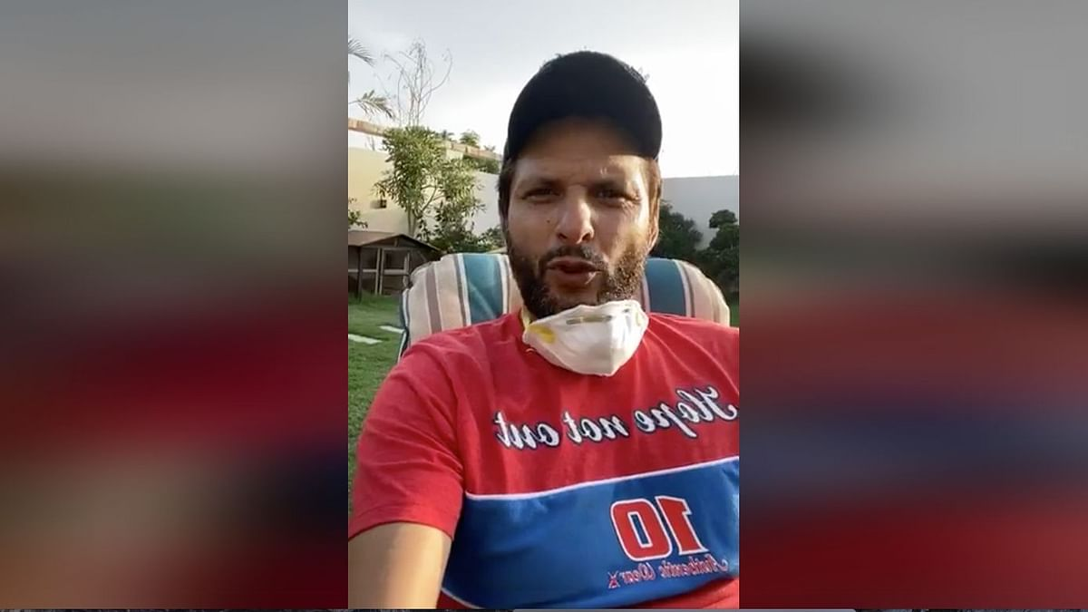 COVID Positive Shahid Afridi Shares Health Update In Video