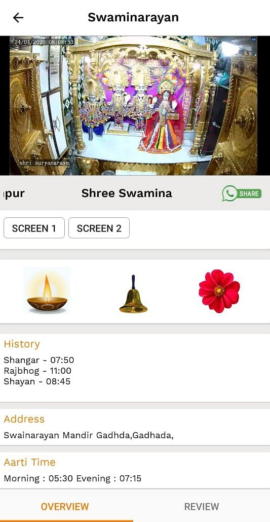 Can't Visit A Temple? These Online 'Darshan' Apps Can Help