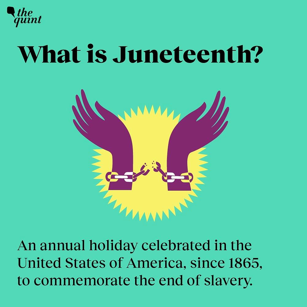 Juneteenth - An annual American holiday