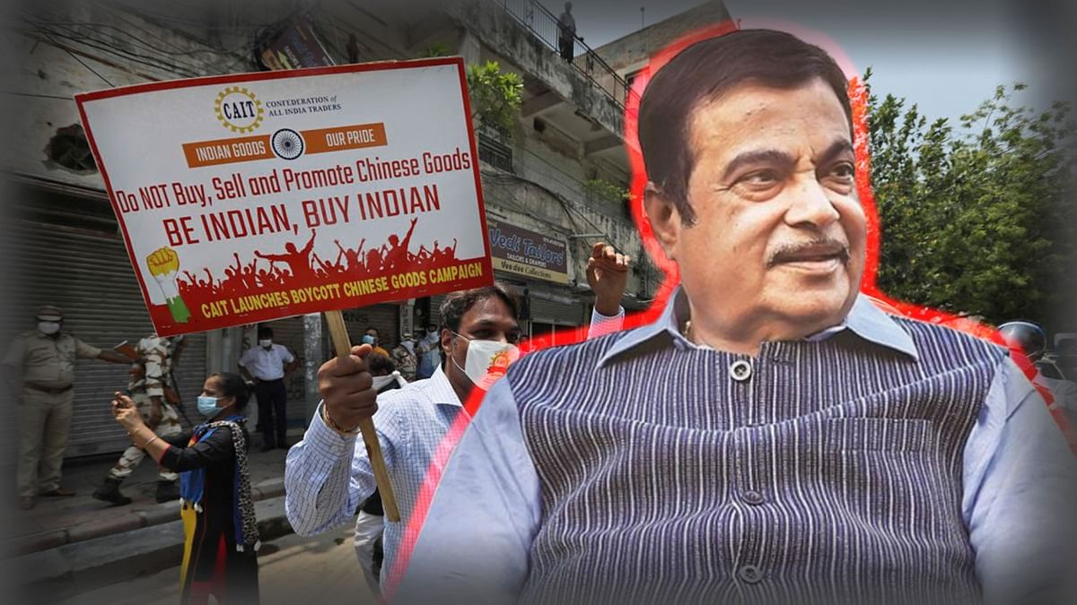 'Against Chinese Imports': Union Minister Gadkari