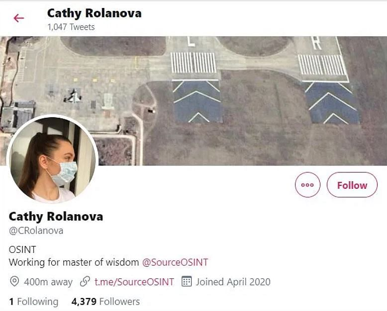 'Cathy Rolanova' on Twitter.