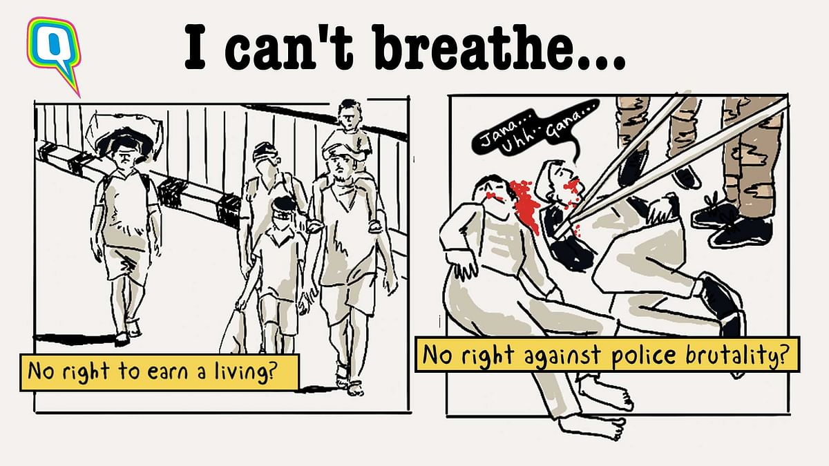 'I Can't Breathe: Forms of Systematic Oppression are #KaafiReal