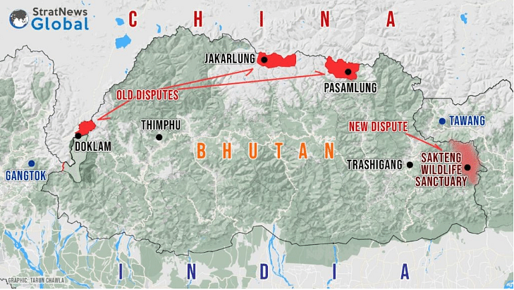 China Crafts New Row In Bhutan Wildlife Sanctuary Bordering India