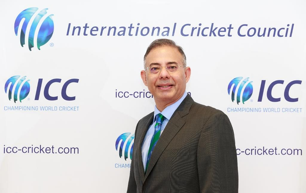 File picture of ICC Chief Executive Manu Sawhney.