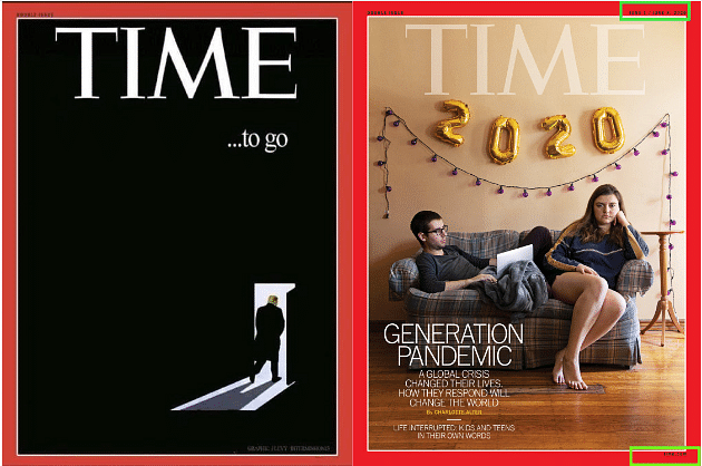 Left: Viral Image. Right: Official TIME Magazine Cover.
