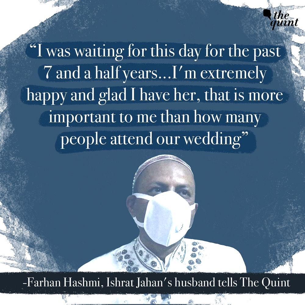 'Want to Live in the Moment': Inside UAPA Accused Ishrat's Wedding