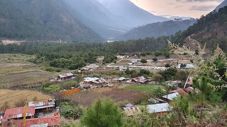Kaho village, in Anjaw district also known as the last village in Indian territory.