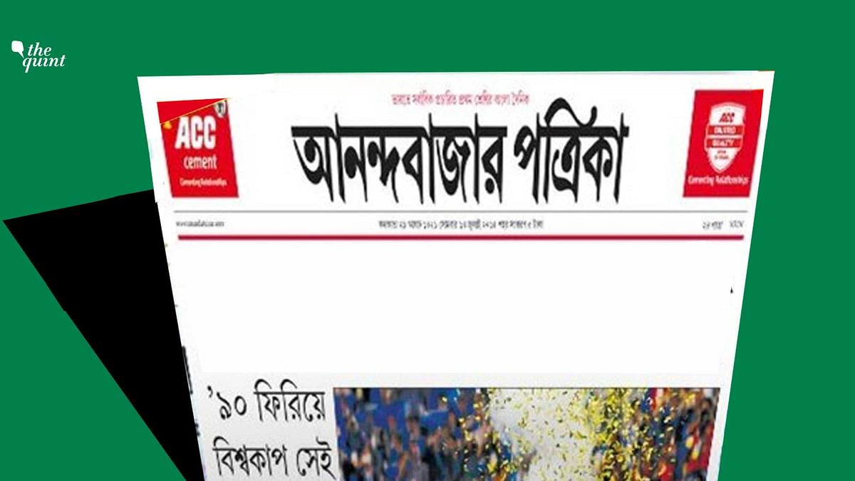 Questions on press freedom in West Bengal have risen after editor of the Anandabazar Patrika, Anirban Chattopadhyay, stepped down from his position. He has however, denied any political angle to his exit.