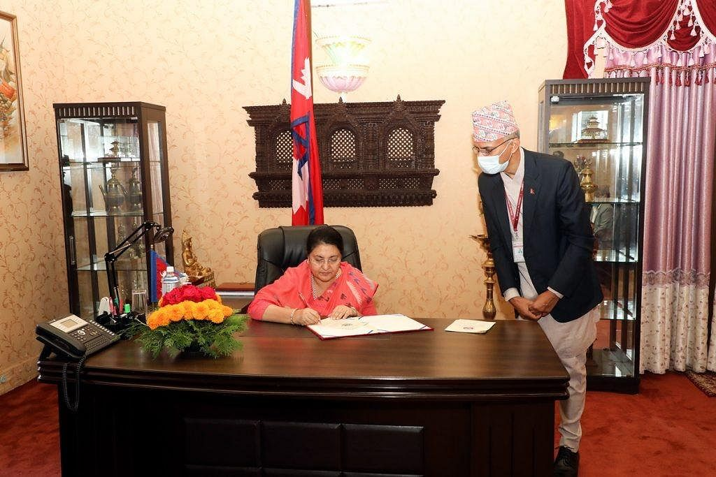 Nepal President Bidhya Devi Bhandari ratifies Constitution Amendment Bill for changing the map of Nepal.